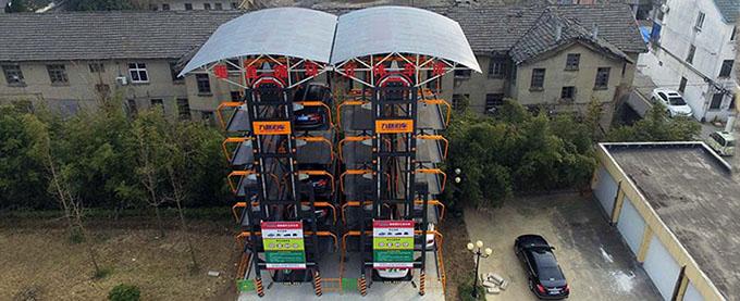 江苏大丰住建局垂直循环式立体车库项目