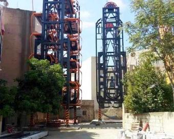 黎巴嫩垂直循环式立体车库项目