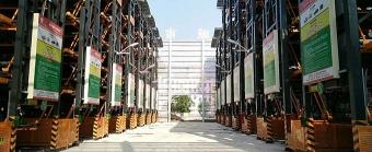 安徽淮北惠泽智能立体停车场项目