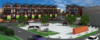 长垣县县前街智能立体停车场项目
