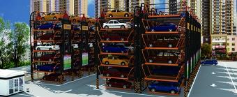 约旦垂直循环式立体停车场项目