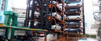 深圳市安监大厦垂直循环式立体车库项目