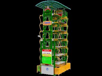 14车位垂直循环式立体车库